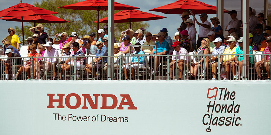 Crowd at Honda Classic