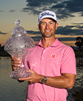 Adam Scott with Trophy
