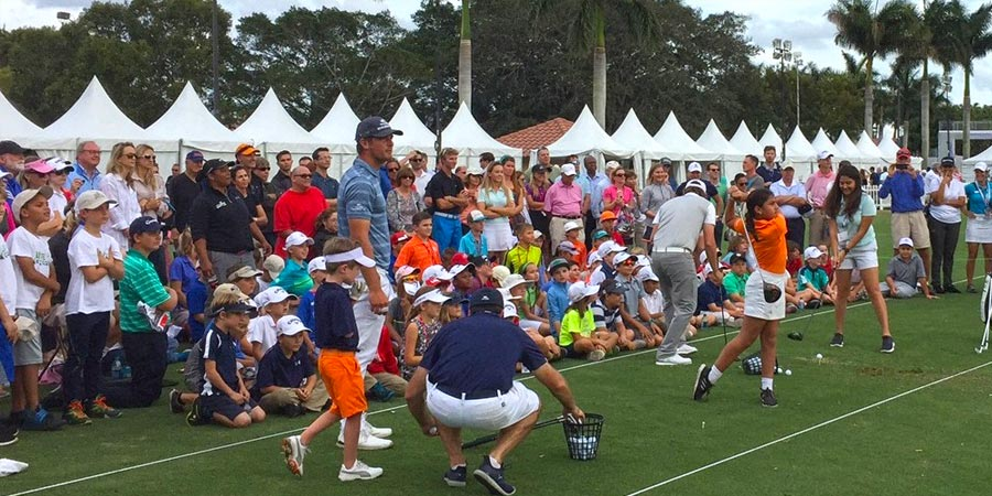 Junior Clinic at Honda Classic