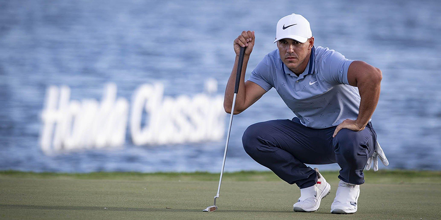 Brooks Koepka on 18 at The Honda Classic