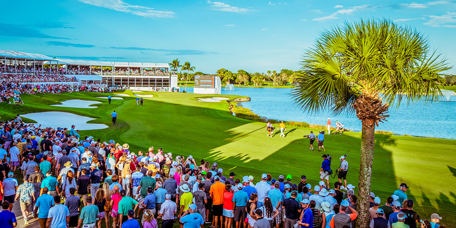 crowds at the honda classic